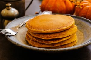 Breakfast - Homemade Pumpkin Pancakes