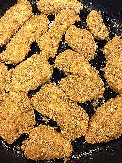 Flaxmeal Chicken Stripes (gluten-free, grain-free, dairy-free, paleo)