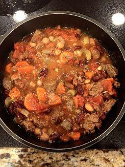 Crockpot Beef Chili