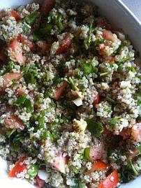 Quinoa Tabouli with Chia Seeds