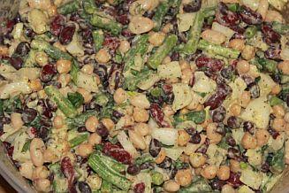 Bean Salad (Gluten Free)