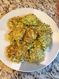 Zucchini Fritters (gluten-free)