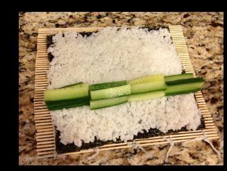 Cucumber Maki Rolls 2