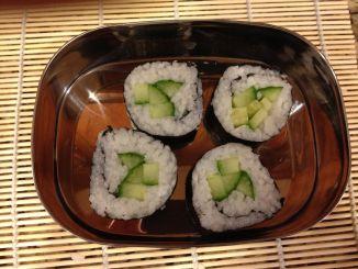 Cucumber Maki Rolls 5