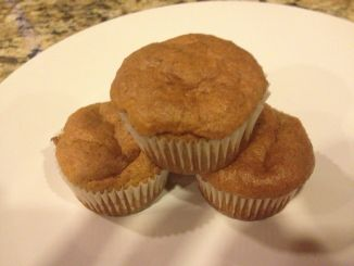 Sweet Potato and Banana Muffins